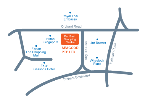 Seagood Pte Ltd location map